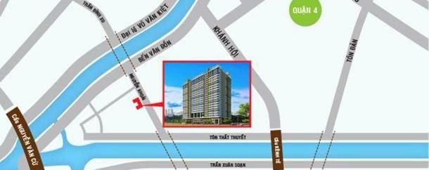 Vị trí căn hộ Galaxy 9 Quận 4
