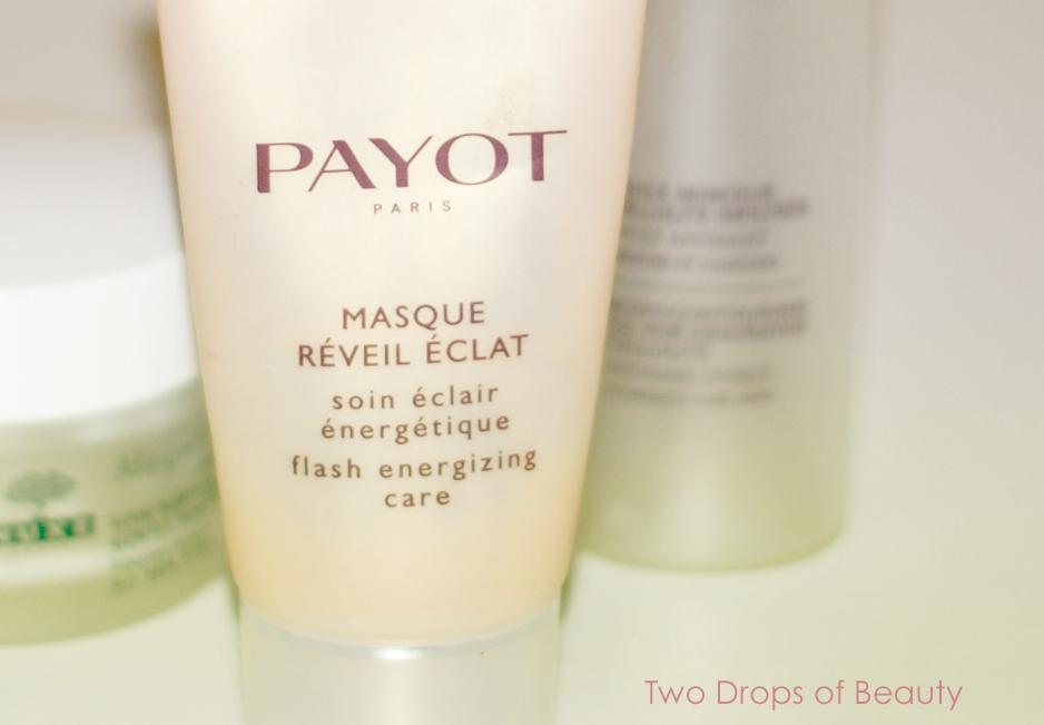 Payot flash energizing mask. маска для лица, бодрящая