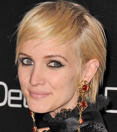 Ashlee Simpson hairstyles 2011