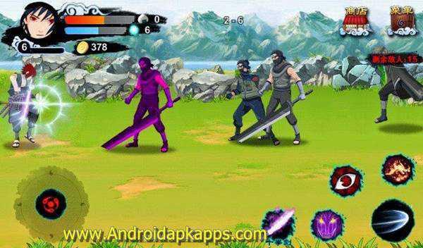 Free Download Game Naruto v1.1.40 Apk Android Terbaru 2015 Gratis