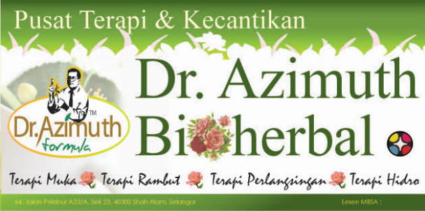 Pusat Terapi Dan Kecantikan Dr. Azimuth Bio Herbal Seksyen 23 Shah Alam