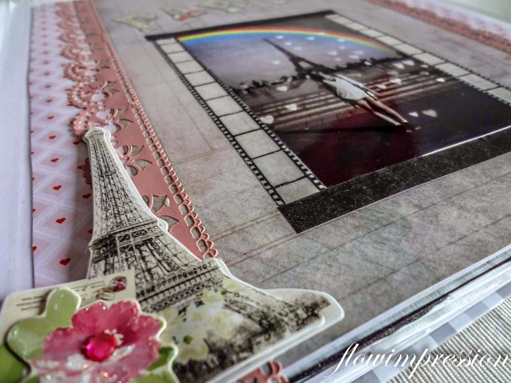 Scrapbook Layout Paris