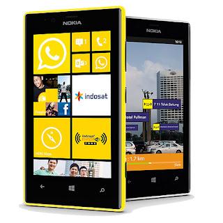 Gambar Nokia Lumia 720 Windows Phone 8 Layar 4.3 Inch