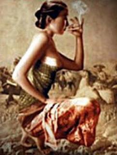 kisah asmara roromenut dan rokok