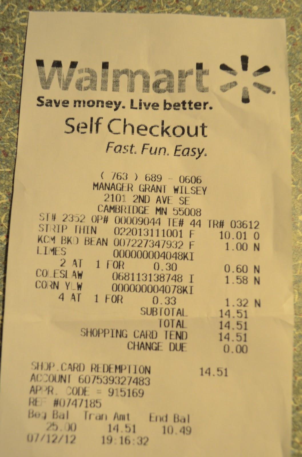 Walmart Summer Steak BBQ on a Budget Challenge - $25 Walmart Gift ...