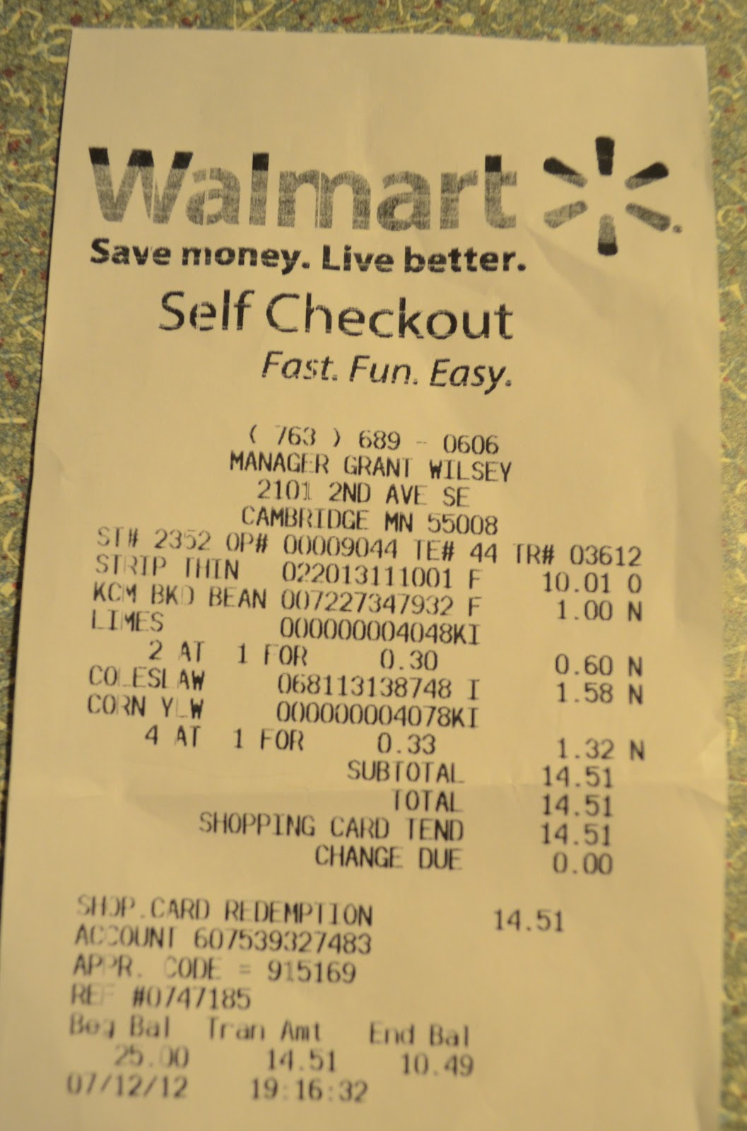 Walmart summer steak bbq on a budget challenge 25 walmart gift save i received a 25 walmart gift card 1betcityfo Choice Image
