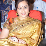 Meena in Silk Saree @ an Event Pics