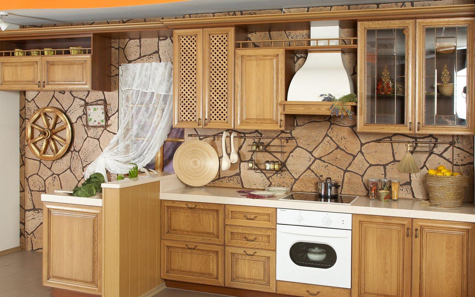 Beautiful Kitchens HQ Wallpaper Set 1