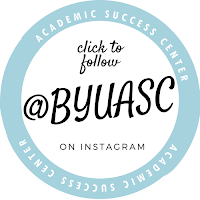 Follow @byuasc on Instagram and Facebook for study tips, updates, and event invites!
