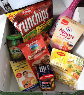 Lebensmittel, Überraschung, Box