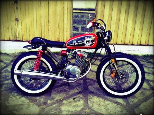Modifikasi Honda CB 100