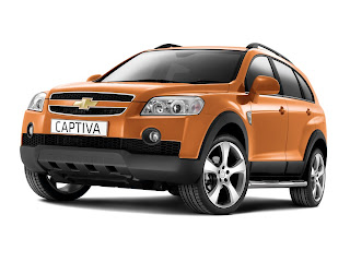 Chevrolet Captiva Pictures