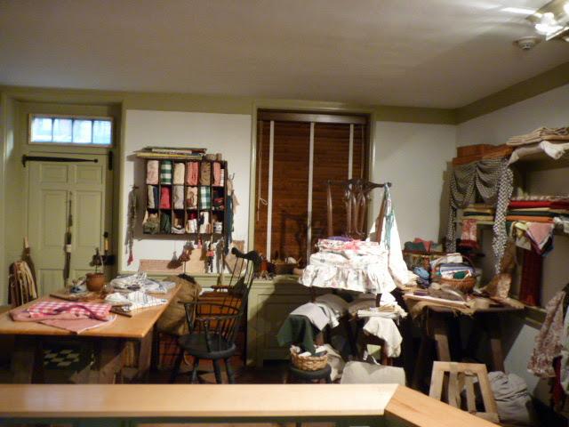 Interior Casa de Betsy Ross, Philadelphia