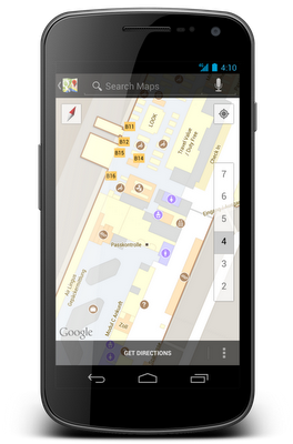 Google Indoor Maps - jetzt auch für den Flughafen München