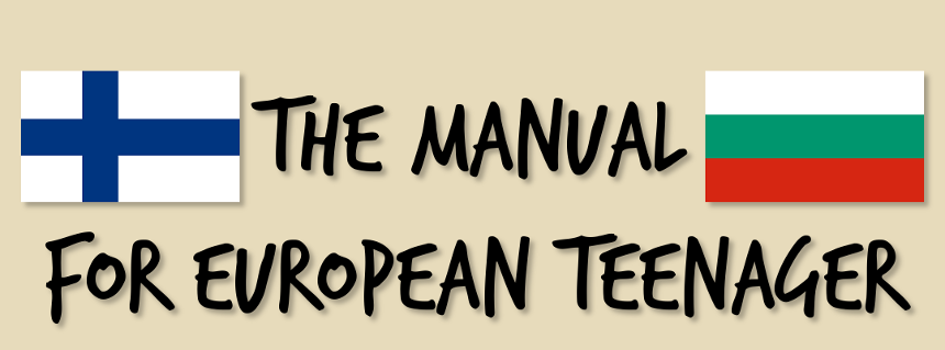 The manual for European teenager