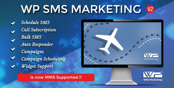 Free Download WP SMS Marketing V2.1 Wordpress Plugin