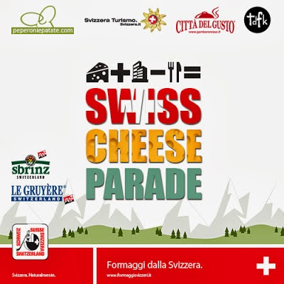 Il contest Swiss Cheese Parade in collaborazione con Peperoni e Patate