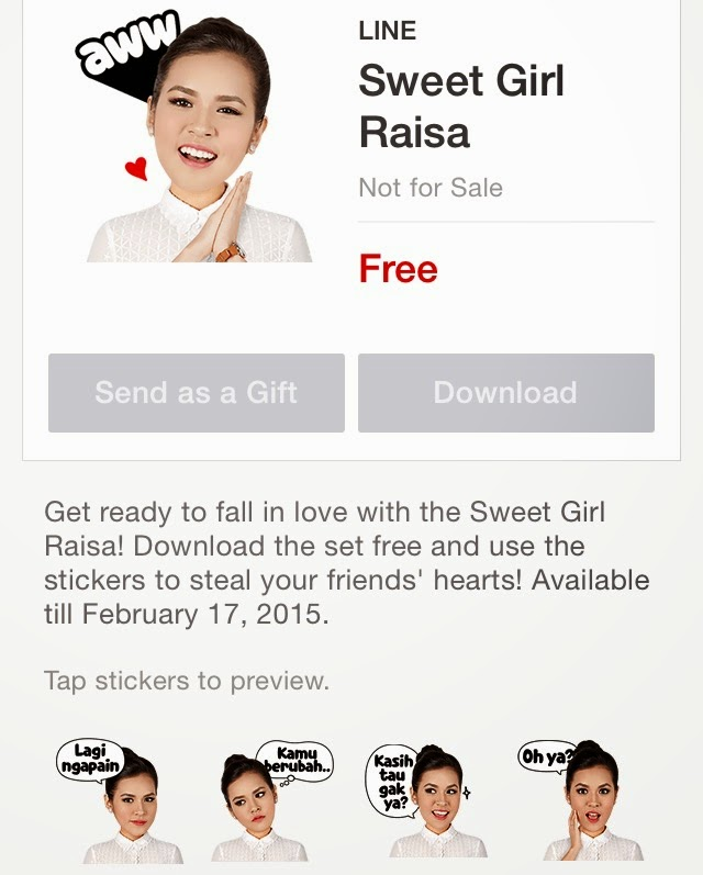 Sweet Girl Raisa