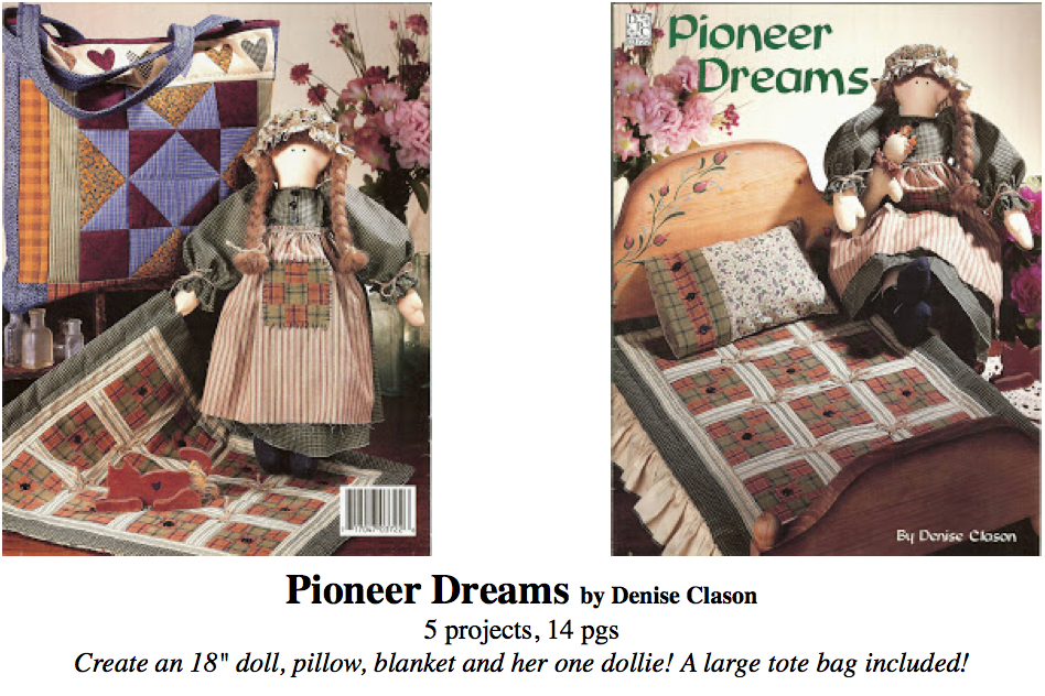pioneer dreams booklet, darrow publications
