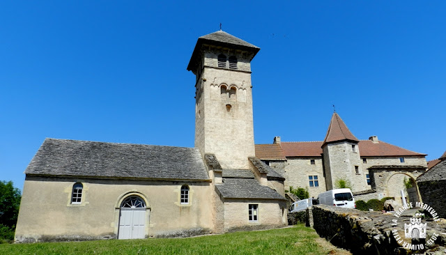 BLANOT (71) - Eglise romane Saint-Martin