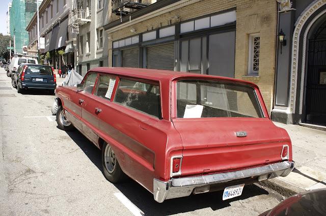 1964 Chevrolet Impala Wagon.