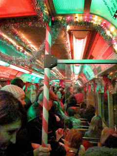 How Chicago got their band name - Holiday Train interior
