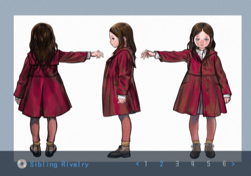 Death by Degrees Young Anna Williams Character Art