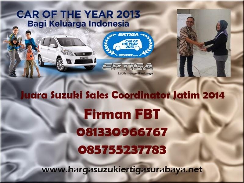 Harga OTR Suzuki Ertiga UMC Dan SBT Surabaya Sidoarjo Bangkalan Pamekasan Telp Firman FBT 085755237783