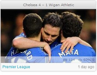 Chelsea vs Wigan