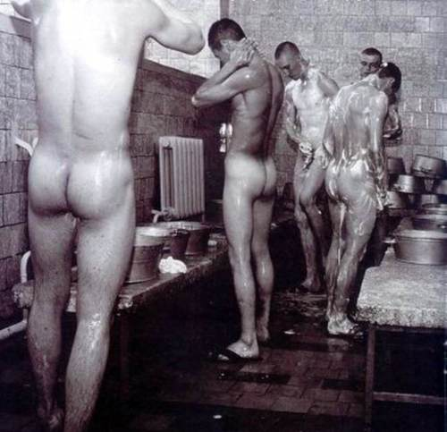from Sawyer gay men taking showers in locker rooms