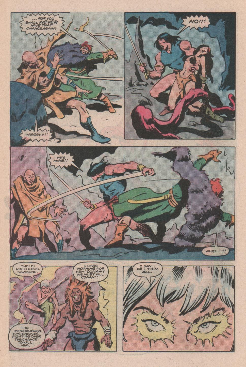 Conan the Barbarian (1970) Issue #173 #185 - English 17