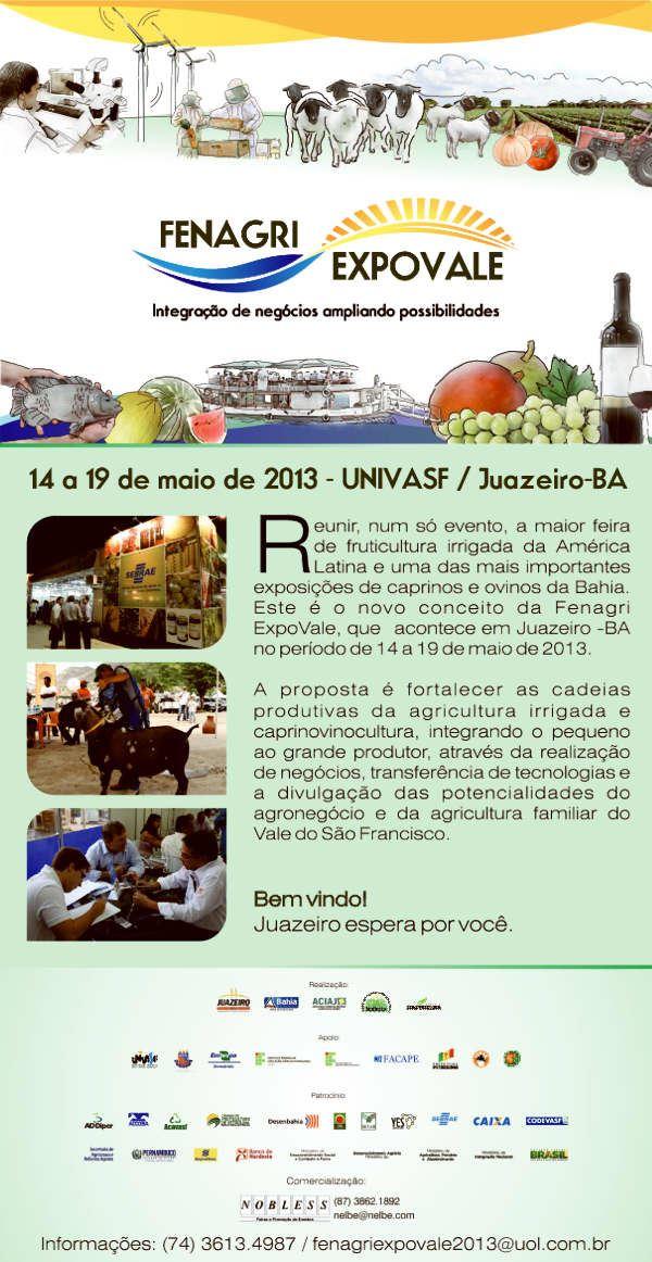 FENAGRI 2013 - 24ª Feira Nacional da Agricultura Irrigada