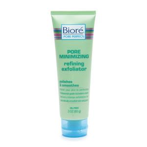 Biore, Biore exfoliator, Biore scrub, Biore face scrub, Biore Pore Minimizing Refining Exfoliator, exfoliator, scrub, face scrub, skin, skincare, skin care, Biore skincare, Biore skin care
