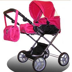 Bassinet Doll Stroller2