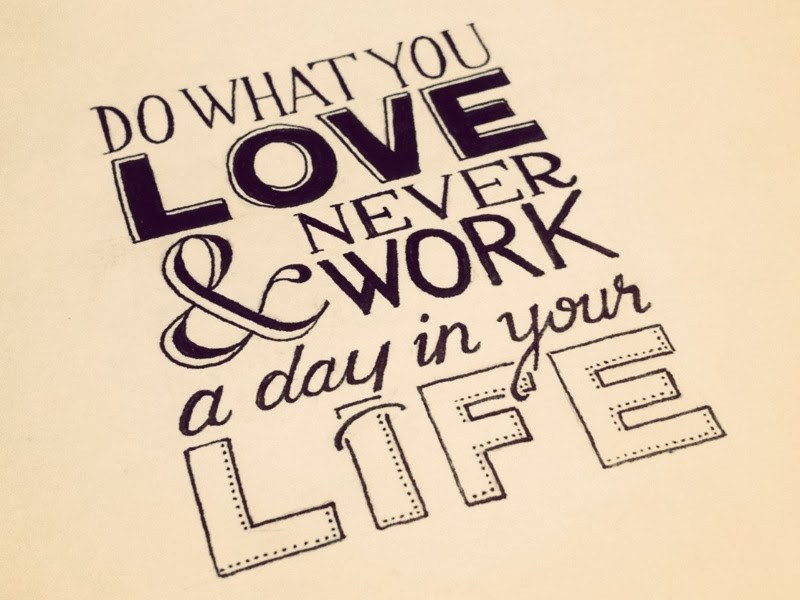 do what you love, work from home