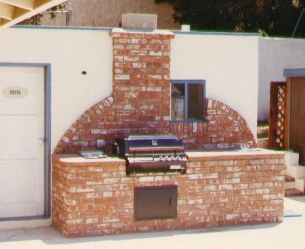 Brick Barbecues