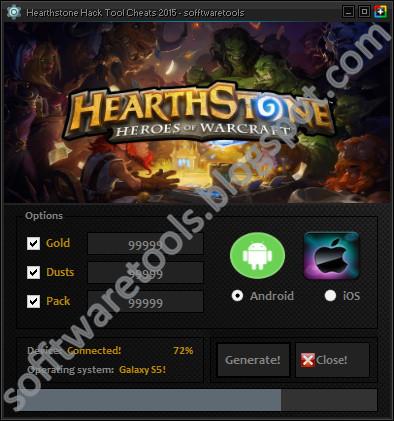 Hearthstone Hack Tool iOS 2015   No Surveys   Unlimited ...