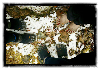 vibram fivefingers snow