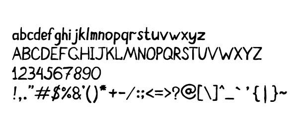 Font Terbaru Untuk Desain Grafis - Felt Pen Light Font Letters