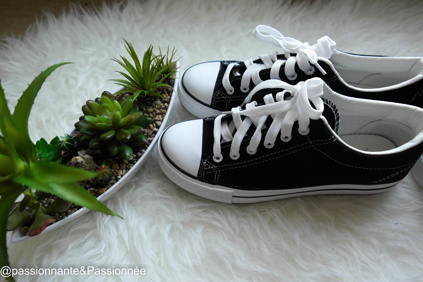 Sneakers compensé babou