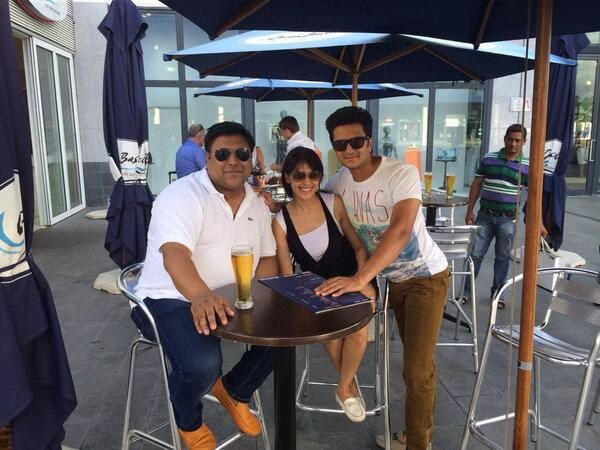 Riteish & Genelia at Grand Baie La Croisette in Mauritius