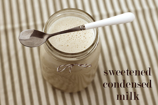 Healthy Homemade Sweetened Condensed Milk - Desserts with Benefits