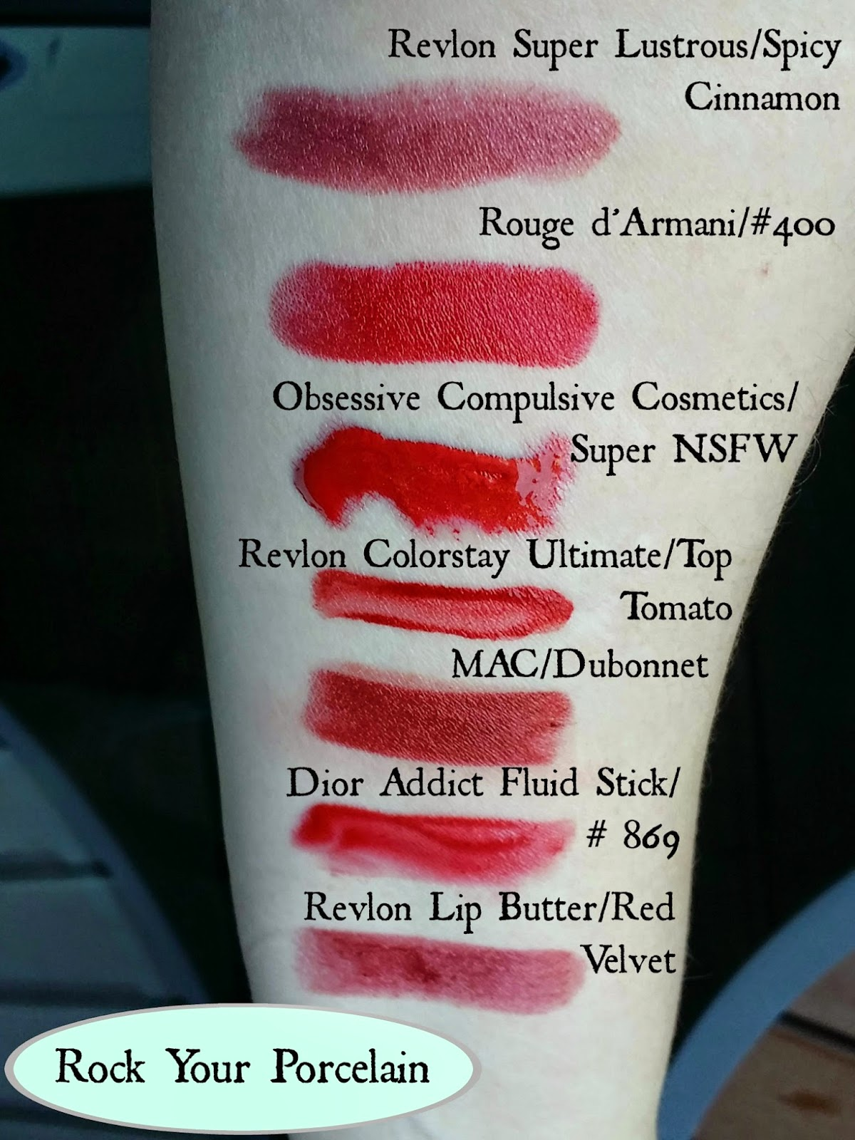 Rock Your Porcelain 7 Red And Wine Lip Colors For Pale Skin