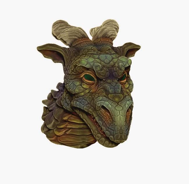 Horned Green Dragon main