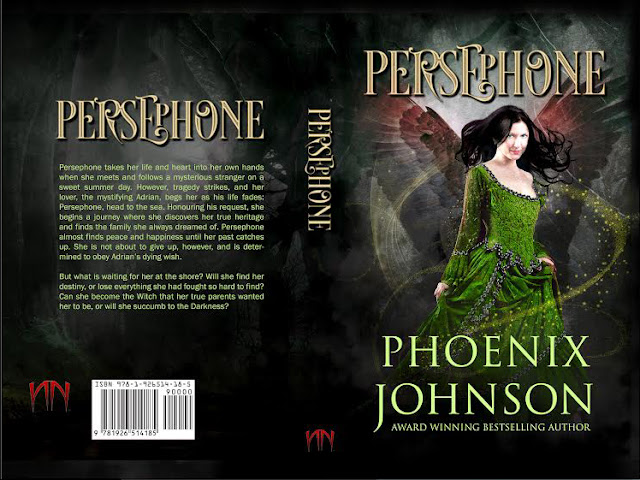 Persephone Happy Release Day! Brand New from Phoenix Johnson! One-Day Promotion