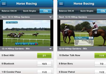 Virtual Betting Application