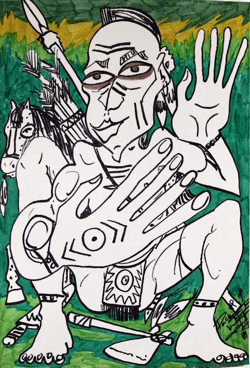 Cazador indio 11-9-91