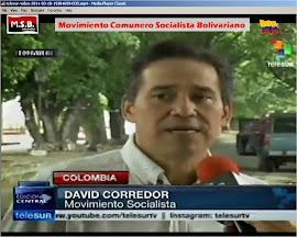 DavidC elecciones 2014 y opina de Alvaro Uribe. Telesur Caracas