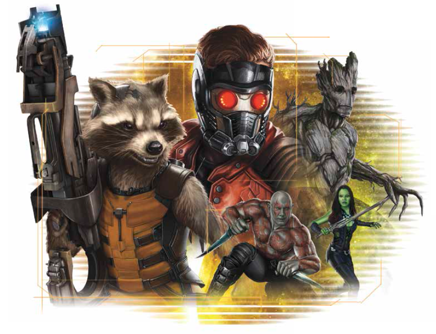 Star Lord And Rocket Raccoon By Timothygreenii On Deviantart: Like
