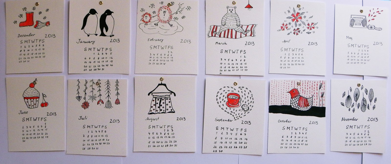Календарь сделать своими руками 237